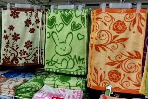 Cơ hội xuất khẩu 1 container 40ft khăn tắm sang thị trường Malaysia