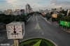 Đường phố Sài Gòn vắng lặng chưa từng thấy sau 18h