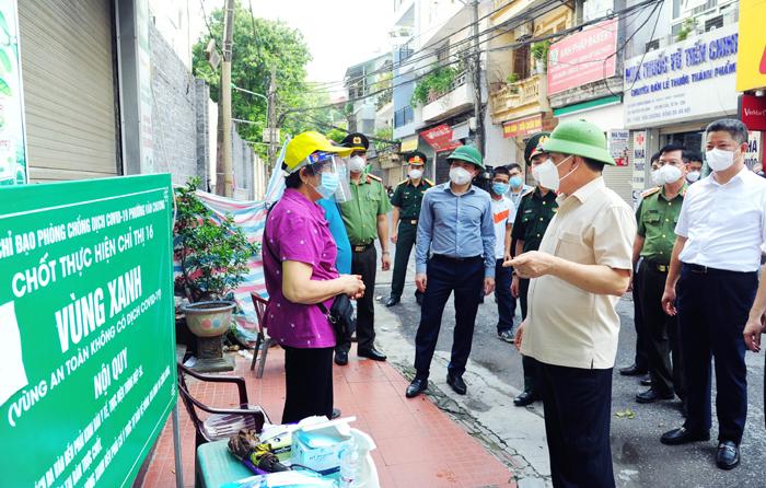 Ban Thường vụ Thành ủy Hà Nội chỉ đạo 6 nội dung đặc biệt lưu ý nhằm nâng cao hiệu quả công tác phòng, chống Covid-19