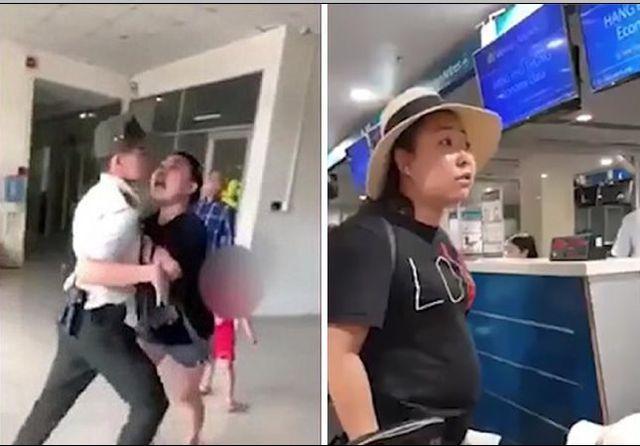 """Cấm bay 1 năm nữ công an """"mạt sát"""" nhân viên sân bay"""