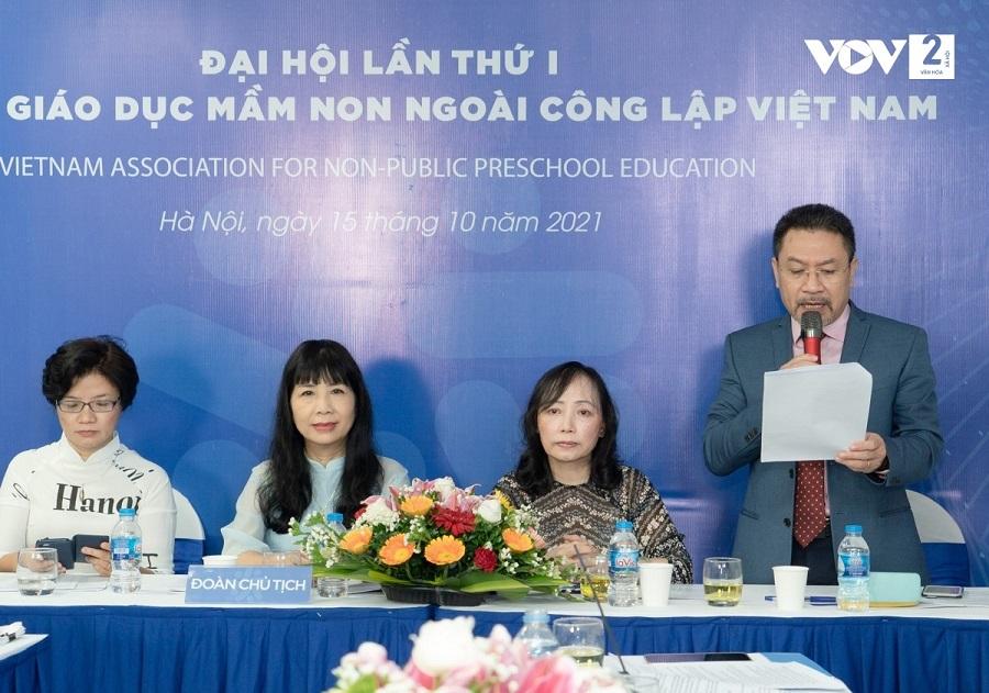 """Chính thức ra mắt Hiệp hội Giáo dục Mầm non ngoài công lập Việt Nam sau 2 năm """"thai nghén"""""""