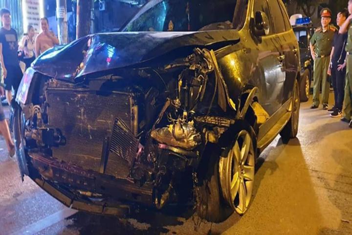Công an uống rượu bia lái xe gây tai nạn có thể bị giáng cấp