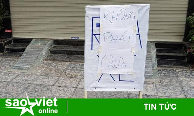 Giải tán điểm phát quà miễn phí tại Nam Đồng vì quá đông người đến