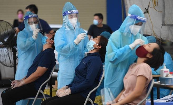 Hà Nội phát hiện chùm ca dương tính SARS-CoV-2 tại Long Biên