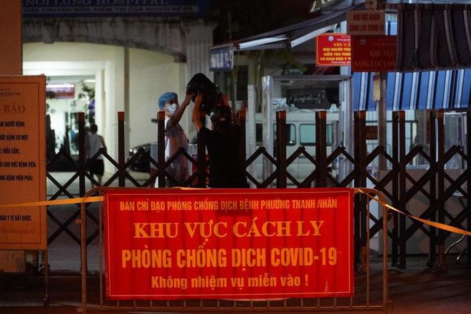 Hà Nội: Thêm 12 F0, xác nhận chùm 9 ca bệnh tại Bệnh viện Phổi