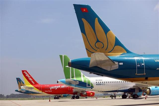 Hàng không Việt Nam 3 lần