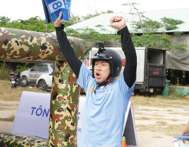Hình ảnh danh hài Chí Tài trong chương trình thực tế chưa lên sóng