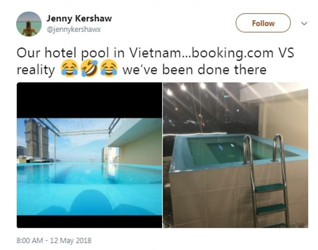 """Khách Tây """"té ngửa"""" khi đặt khách sạn ở Việt Nam qua mạng"""