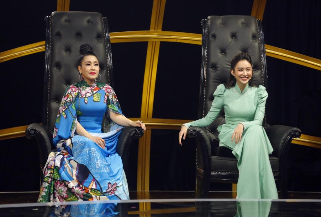Kiều Oanh cùng Á hậu Hà Thu