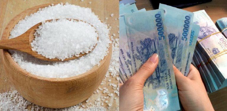 Lấy bát muối để đúng vị trí này gia đình nghèo mấy cũng giàu trong chốc lát, tiền nhiều vô kể luôn hạnh phúc