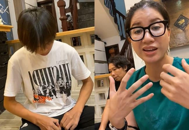 """Netizen phẫn nộ việc Trang Trần đến nhà, liên tục hỏi như """"ép cung"""" Hồ Văn Cường dù Phi Nhung mới qua đời"""
