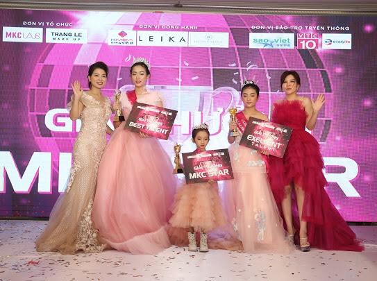 Nguyễn Nhật khánh cô bé 6 tuổi chiếm trọn sportlight sàn diễn MCK Beauty fashion 2020