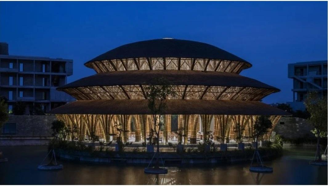 Nhà hàng tre Vedana Ninh Bình đạt giải thưởng quốc tế về kiến trúc
