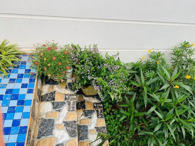 Những góc 'sống ảo' trong vườn nhà Nguyễn Ngọc Anh