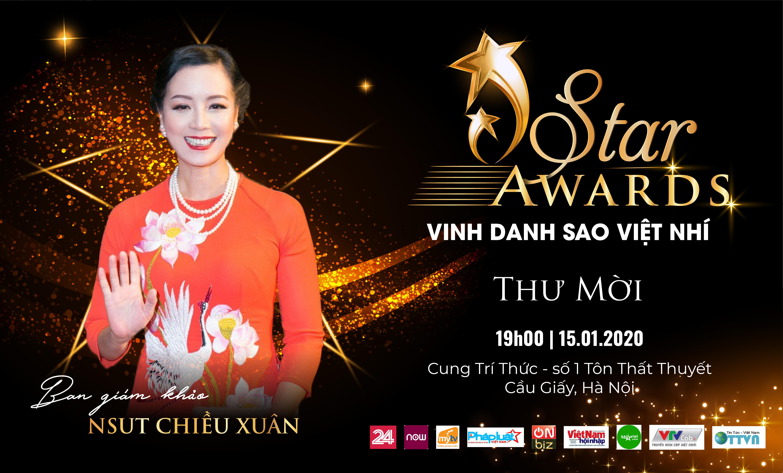 NSƯT Chiều Xuân cùng nhiều nghệ sĩ tham gia vai trò Ban giám khảo của Vinh danh Sao Việt nhí - ISTAR AWARDS