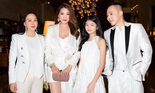 Phượng Chanel, Vũ Khắc Tiệp dự tiệc cùng mẹ con Trương Ngọc Ánh