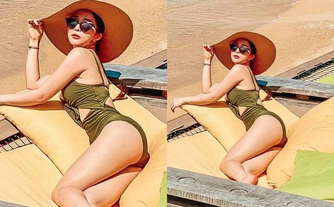 Quỳnh Nga khoe body siêu nóng bỏng, Việt Anh lập tức vào bình luận