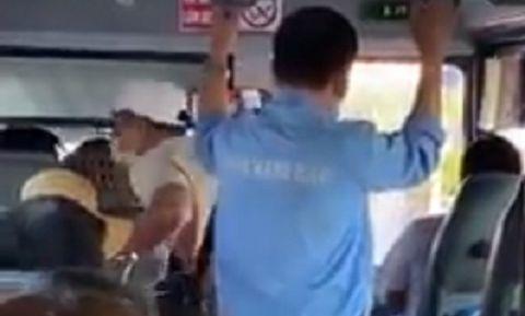 Sa thải thanh tra xe buýt liên tục chửi bậy, dọa cắt cổ hành khách