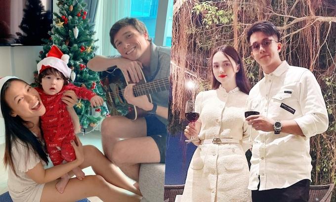 Sao Việt đón Noel bên người thân