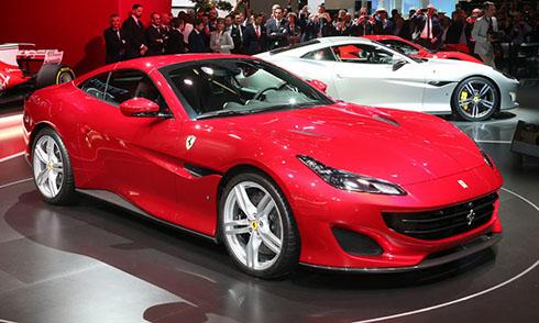 Siêu xe Ferrari Portofino ra mắt ở triển lãm Frankfurt