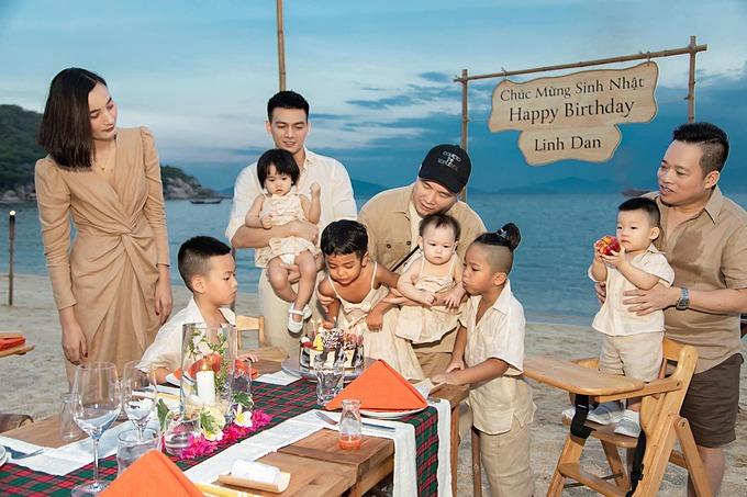 Tin ảnh các sao ngày 4/9: Đỗ Mạnh Cường làm sinh nhật cho con ở resort,