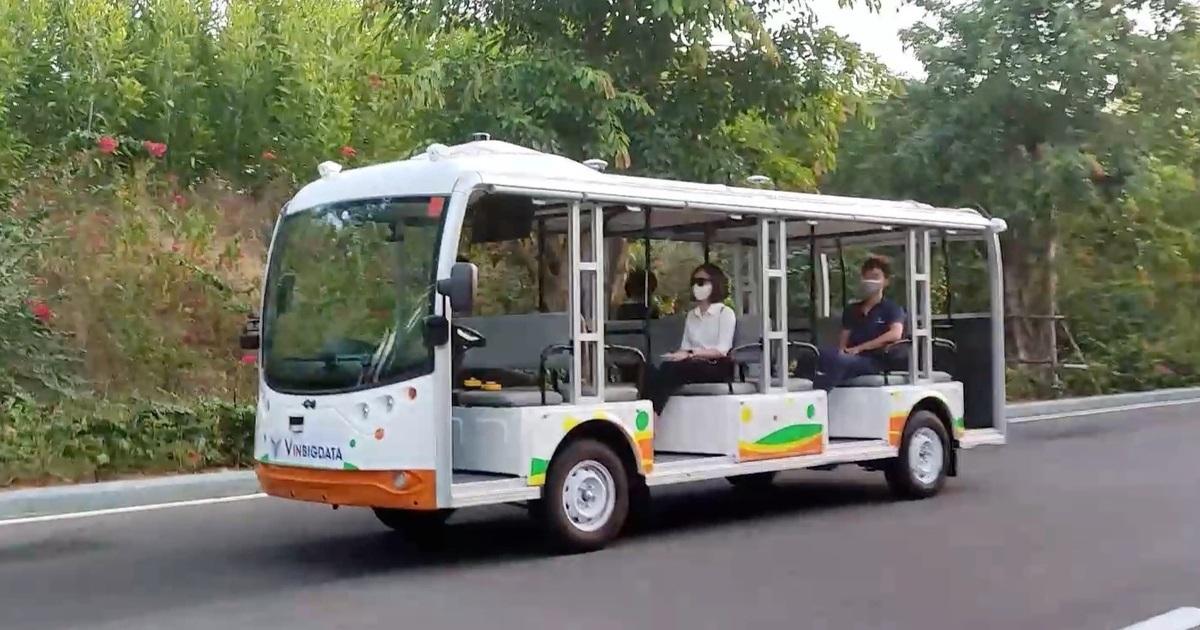 Vingroup thử nghiệm xe điện tự hành cấp độ 4, di chuyển không cần tài xế