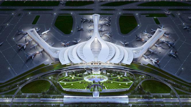 Xem xét đề xuất cho đối tác Trung Quốc xây sân bay Long Thành
