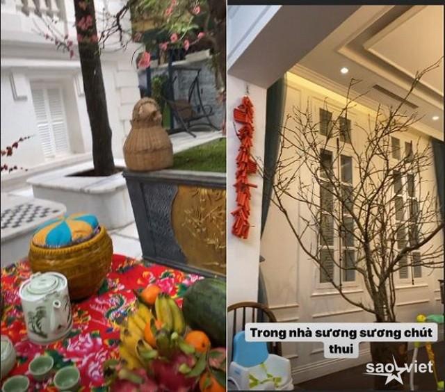Sao Việt trang hoàng biệt thự, căn hộ rực rỡ đón Tết Canh Tý - 6