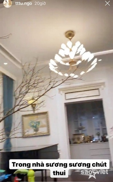 Sao Việt trang hoàng biệt thự, căn hộ rực rỡ đón Tết Canh Tý - 9