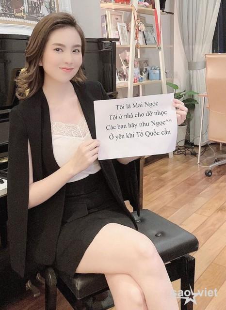 Thực hiện giãn cách xã hội, BTV Mai Ngọc VTV nhớ khán giả da diết - 1