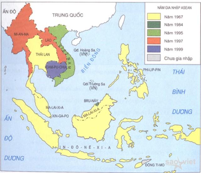 Việt Nam theo dõi sát tình hình phức tạp ở vùng biển các nước ASEAN - 1