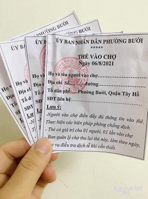 Áp dụng phiếu đi chợ ở Hà Nội: Người mua, người bán cần lưu ý gì? - 1