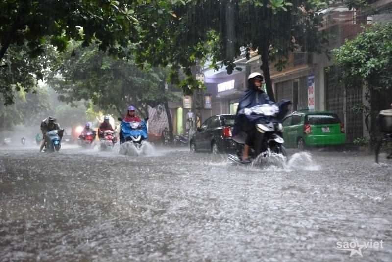 mưa lớn diện rộng sẽ diễn ra ở Bắc Bộ từ 6-9/6