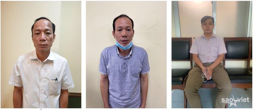 Các đối tượng (từ trái sang): Trịnh Hữu Nghĩa, Nguyễn Văn Phụng, Bùi Trí Thức.