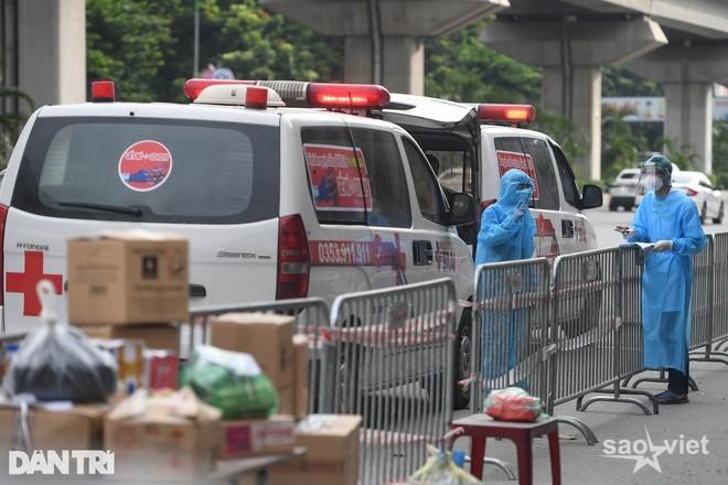 Hà Nội: Số F0 tăng nhanh, quận Thanh Xuân siết chặt biện pháp chống dịch - 1