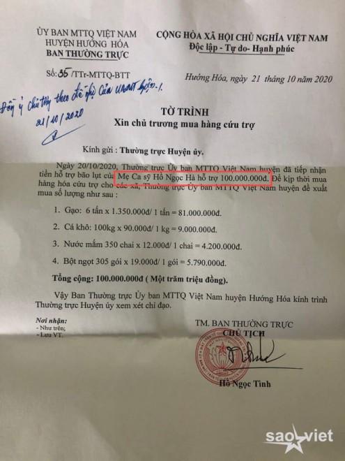 Đến mẹ Hà Hồ bị soi chi tiết gây tranh cãi, chỉ ghi tên cá nhân và con gái khi phát tiền trong đợt cứu trợ miền Trung? - Ảnh 5.