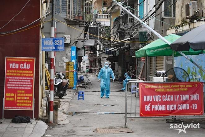 Hà Nội: Thanh Xuân Trung thêm F0, Tây Hồ phong tỏa một khu dân cư  - 1