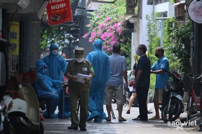 Hà Nội: Thanh Xuân Trung thêm F0, Tây Hồ phong tỏa một khu dân cư  - 2