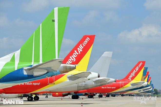 Công bố thông tin các chuyến bay đi/đến Hà Nội và TPHCM từ ngày 10/10 - 2