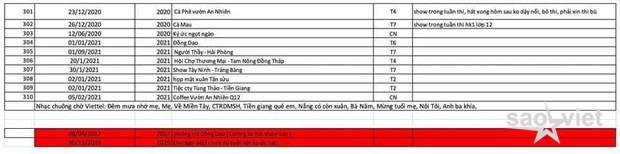 Phía ekip cố NS Phi Nhung nói gì về danh sách 310 đêm diễn và sự kiện của Hồ Văn Cường gây xôn xao MXH? - Ảnh 4.